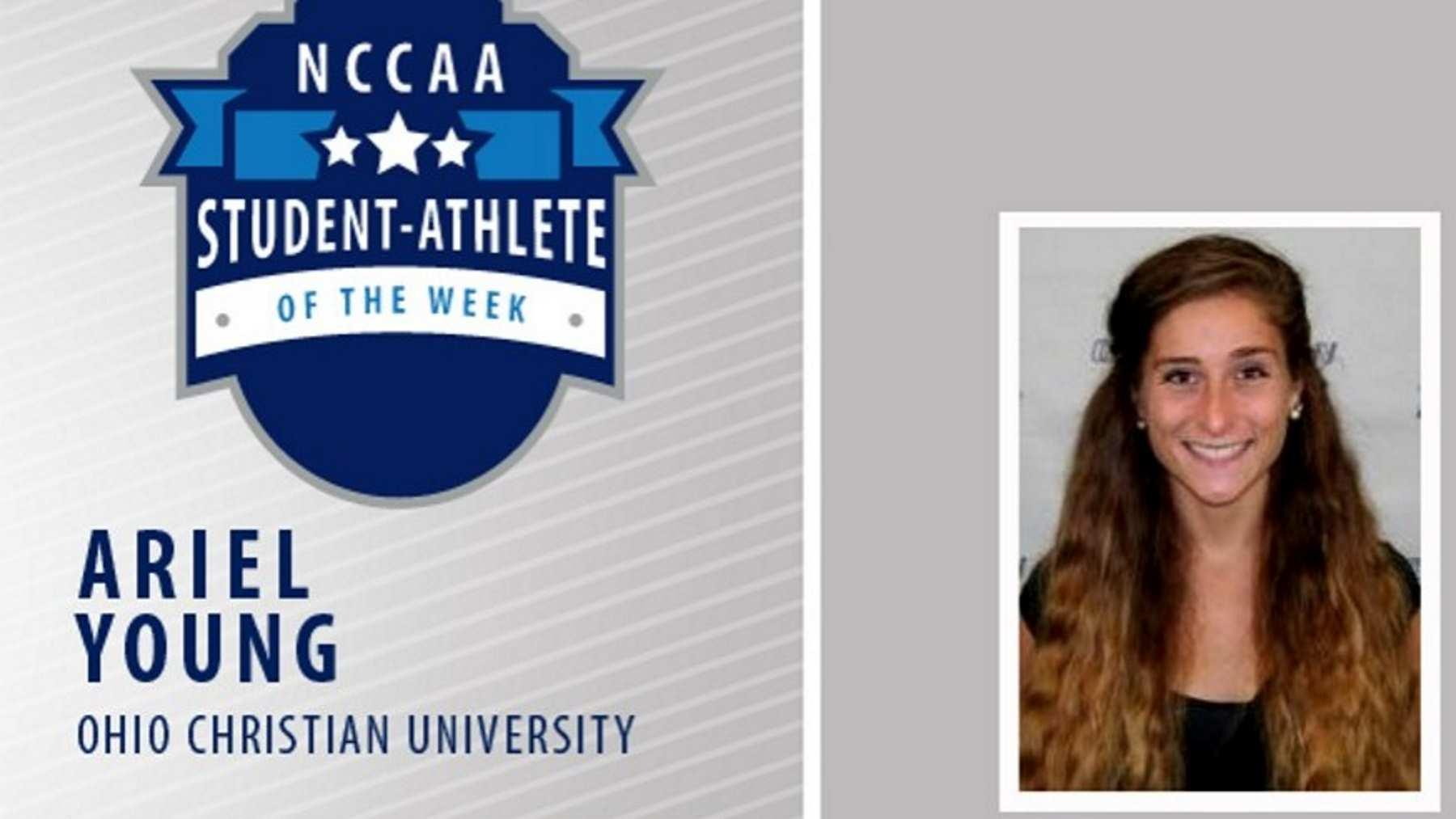 Ariel Young Receives Student-Athlete of the Week Honors