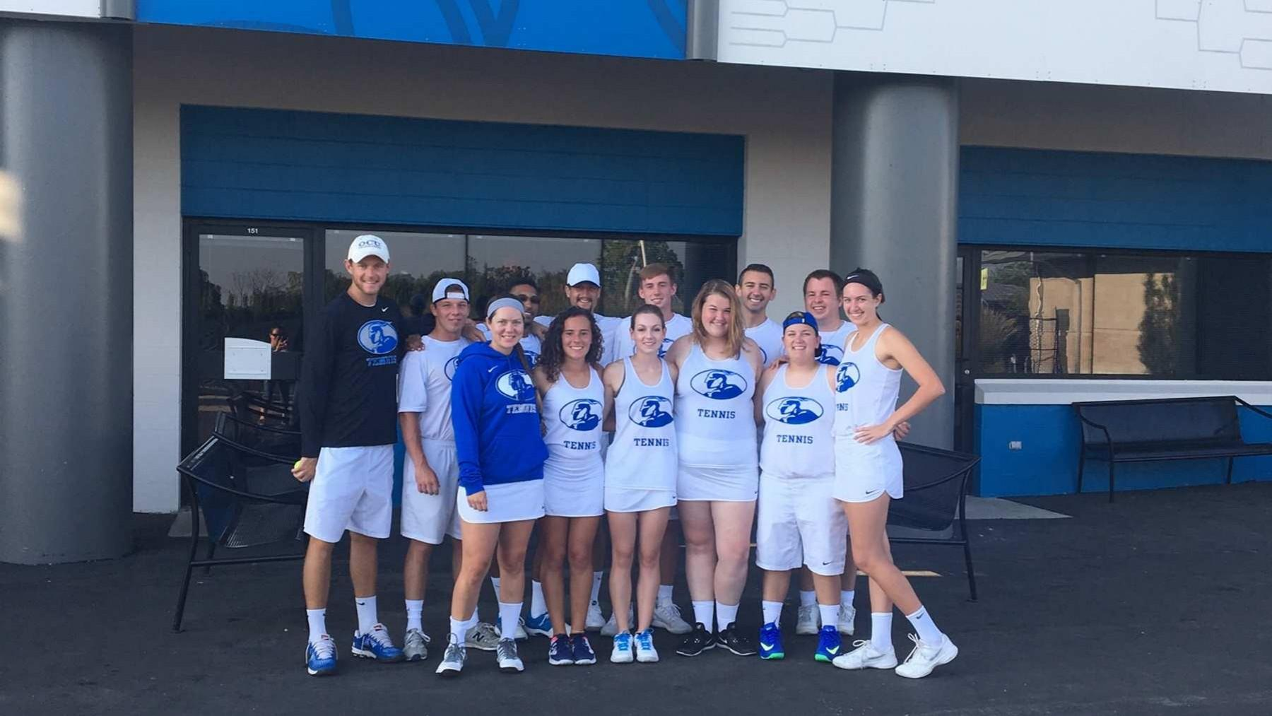 Tennis Program Competes At Lindner Center, Defeats OUL